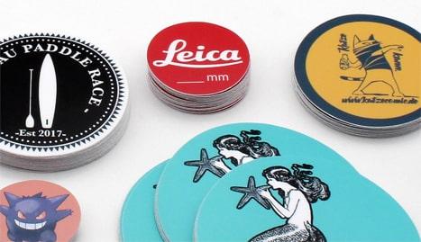 stickers autocollants personnalis s ronds sur mesure. Black Bedroom Furniture Sets. Home Design Ideas